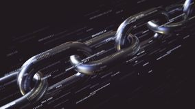 Συνδέσεις αλυσίδων και δυαδικοί αριθμοί πετάγματος Η τεχνολογία Blockchain αφορούσε τη loopable ζωτικότητα απόθεμα βίντεο