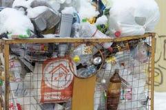 Συσσωρευμένος dumpster στοκ φωτογραφία με δικαίωμα ελεύθερης χρήσης