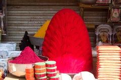 Σωροί πορφυρού, Tulajapur στοκ εικόνα με δικαίωμα ελεύθερης χρήσης