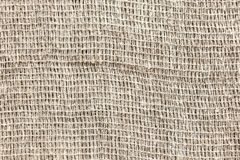 Σπάνια υφαμένο γκρίζο χονδροειδές ύφασμα sackcloth στοκ φωτογραφίες με δικαίωμα ελεύθερης χρήσης