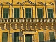 Σπίτι Catalunya, Μάλτα στοκ φωτογραφία