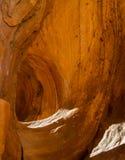 Σπηλιά αέρα στον των Αζτέκων ψαμμίτη στοκ φωτογραφίες