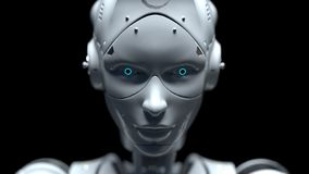 Τα ρομπότ FI sai ρομπότ τεχνολογίας τρισδιάστατα δίνουν διανυσματική απεικόνιση