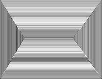 Τετράγωνα, μαύρο άσπρο διάνυσμα απεικόνιση αποθεμάτων