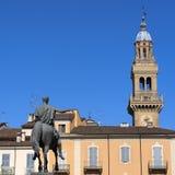 Τετράγωνο Mazzini σε Casale Monferrato, Piedmont στοκ φωτογραφίες με δικαίωμα ελεύθερης χρήσης
