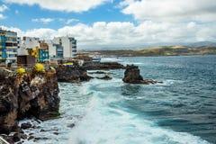 Τουρισμός και ταξίδι Κανάρια νησιά tenerife στοκ φωτογραφίες με δικαίωμα ελεύθερης χρήσης