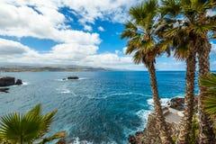 Τουρισμός και ταξίδι Κανάρια νησιά tenerife στοκ εικόνα με δικαίωμα ελεύθερης χρήσης