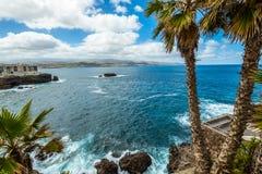 Τουρισμός και ταξίδι Κανάρια νησιά tenerife στοκ εικόνες με δικαίωμα ελεύθερης χρήσης