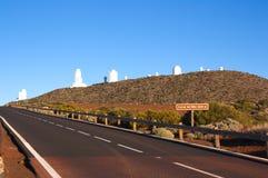 Το αστρονομικό κέντρο Cañadas del Teide στοκ φωτογραφίες με δικαίωμα ελεύθερης χρήσης