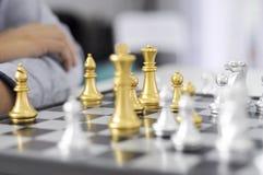 Το επιχειρησιακό σκάκι, έξυπνη επιχείρηση, επιχειρησιακό παιχνίδι κάθε ανταλλαγή παιχνιδιών είναι σημαντικό στοκ εικόνες με δικαίωμα ελεύθερης χρήσης