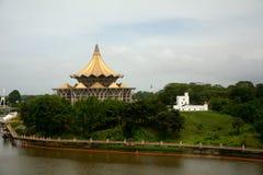 Το Κοινοβούλιο Sarawak και το οχυρό της Margherita, Kuching στοκ φωτογραφίες με δικαίωμα ελεύθερης χρήσης