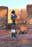 Το μικρό μνημείο στρατιωτών στη Βαρσοβία, Πολωνία στοκ εικόνες