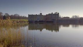 Το διάσημο Leeds Castle στην Αγγλία απόθεμα βίντεο