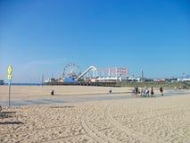 το πάρκο διασκέδασης στην παραλία του Μαϊάμι στοκ εικόνα