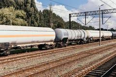 τραίνο δεξαμενών μαζούτ στοκ εικόνες