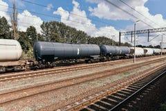 τραίνο δεξαμενών μαζούτ στοκ εικόνα με δικαίωμα ελεύθερης χρήσης