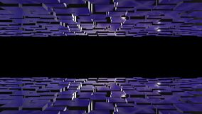 τρισδιάστατα διαστημικά έκταση/τοπίο Φουτουριστική ζωτικότητα υποβάθρου διανυσματική απεικόνιση