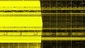 Τρισδιάστατος παν βρόχος υποβάθρου 4K τεχνολογίας κύκλων γραμμών αριθμών διανυσματική απεικόνιση