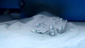 τρισδιάστατο μέταλλο εκτύπωσης εκτυπωτών απόθεμα βίντεο