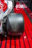 Τύπος 1 της Alfa Romeo Sauber αυτοκίνητο στοκ εικόνες