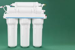 Φίλτρο νερού όσμωσης στοκ εικόνες