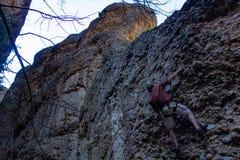 4 8 2018 - Φαράγγι σφενδάμνου, ταξίδι αναρρίχησης βράχου της Γιούτα σε Cobb στοκ φωτογραφίες με δικαίωμα ελεύθερης χρήσης