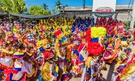 Φεστιβάλ καρναβαλιού παρελάσεων του Barranquilla Atlantico Κολομβία στοκ εικόνα με δικαίωμα ελεύθερης χρήσης