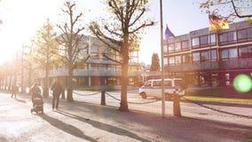 Φλόγα Cinematic πέρα από την αστυνομία polizei van surveillance φιλμ μικρού μήκους