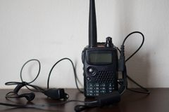 Φορητό Walkie-talkie ραδιοφώνων στοκ εικόνες
