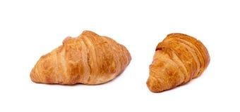 Φρέσκος βουτυρώδης croissant στοκ εικόνα με δικαίωμα ελεύθερης χρήσης