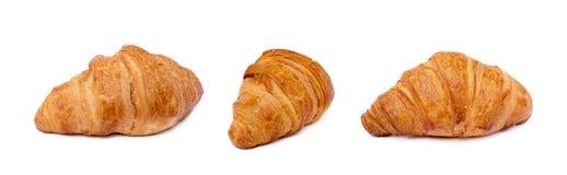 Φρέσκος βουτυρώδης croissant στοκ εικόνες