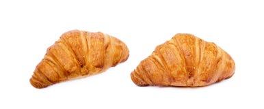Φρέσκος βουτυρώδης croissant στοκ εικόνα