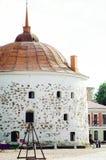 φρούριο μεσαιωνικό Τουριστικά αξιοθέατα Vyborg Κάθετη φωτογραφία στοκ εικόνα
