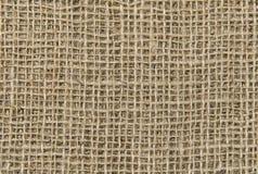Φυσικό sackcloth υπόβαθρο σύστασης στοκ εικόνα με δικαίωμα ελεύθερης χρήσης