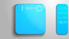 Φωτεινές ηλεκτρονικές κλίμακες για τα άτομα απεικόνιση αποθεμάτων