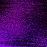 Φωτεινές πορφυρές μπλε γραμμές επίδρασης ροής πυράκτωσης Δυναμική κίνηση Λαμπρά μόρια διανυσματική απεικόνιση