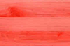Φωτεινός κόκκινος κρητιδογραφιών αυξήθηκε έγχρωμος ξύλινος πίνακας στοκ εικόνα με δικαίωμα ελεύθερης χρήσης