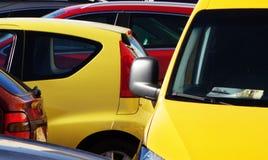Φωτογραφία των αυτοκινήτων στοκ φωτογραφία με δικαίωμα ελεύθερης χρήσης