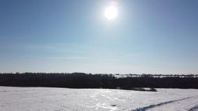 Χειμώνας, ήλιος και φύση