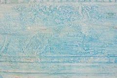 Χλωμιάστε - μπλε ξύλινο σύσταση ή υπόβαθρο σανίδων Εκλεκτής ποιότητας ξύλινο υπόβαθρο με το χρώμα αποφλοίωσης shabby δάσος ανασκό στοκ φωτογραφία με δικαίωμα ελεύθερης χρήσης
