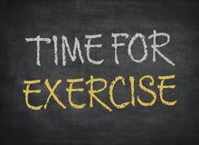 Χρόνος για την άσκηση στοκ φωτογραφίες με δικαίωμα ελεύθερης χρήσης