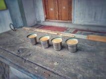 Χρόνος Chai στοκ φωτογραφίες με δικαίωμα ελεύθερης χρήσης