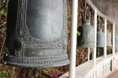 Χρυσός ναός βουνών, Ταϊλάνδη, Μπανγκόκ, wat, κουδούνι στοκ φωτογραφίες