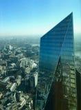 Χτίζοντας πόλη Scalpall του Λονδίνου στοκ εικόνες