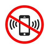 Χτυπώντας εικονίδιο smartphone Χτυπώντας ή δομένος επίπεδο εικονίδιο κινητών τηλεφώνων για τα apps ή τους ιστοχώρους ελεύθερη απεικόνιση δικαιώματος