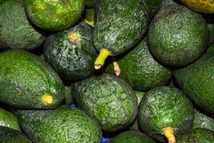 Υγιές αβοκάντο φρούτων Στην αγορά βρίσκεται μια δέσμη στοκ φωτογραφία με δικαίωμα ελεύθερης χρήσης