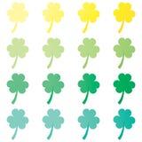 Υπόβαθρο ημέρας Αγίου Πάτρικ ` s Διανυσματική floral κάρτα σχεδίου Εορτασμός & κόμμα όμορφο άνευ ραφής διάνυσμα προτύπων τα πράσι απεικόνιση αποθεμάτων