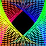 Υπόβαθρο, σύσταση, περίληψη Οι χρωματισμένοι κύκλοι, σφαίρες σε ένα μαύρο υπόβαθρο είναι μονωμένοι ελεύθερη απεικόνιση δικαιώματος