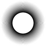 Υπόβαθρο υπό μορφή μαύρης σφαίρας των ακτίνων απεικόνιση αποθεμάτων