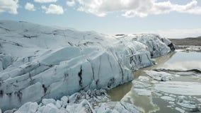 παγετώνας Ισλανδία απόθεμα βίντεο